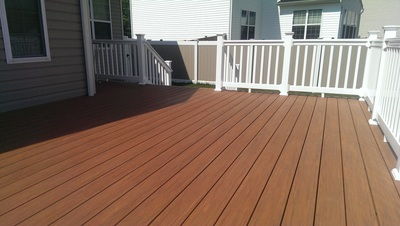 Pvc Decking Maryland Deck Builders The Deck Amp Fence