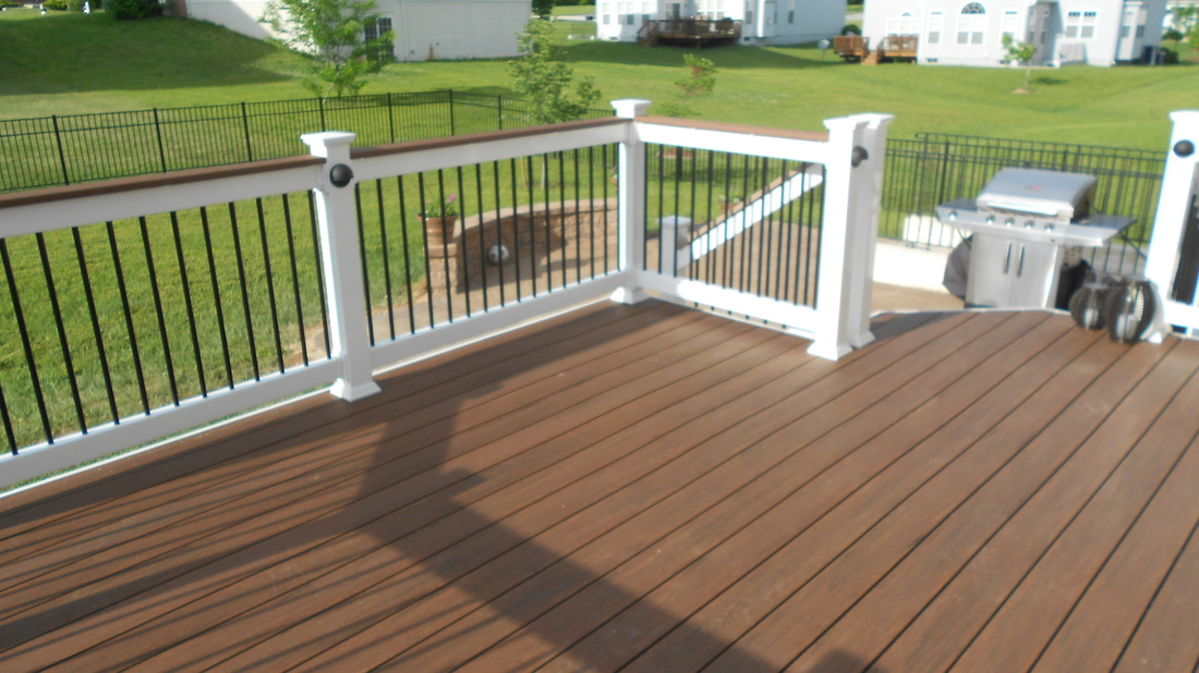 Pvc Decking The Deck Amp Fence Company