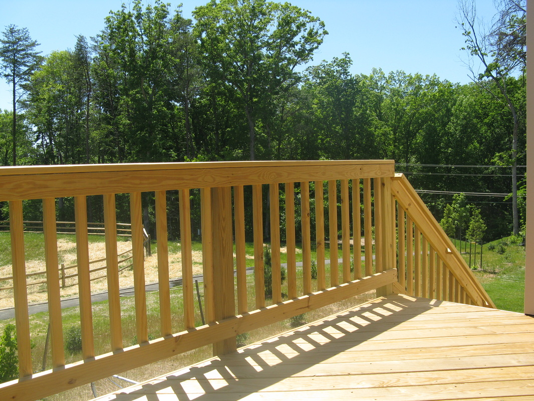 Wood Decking The Deck Amp Fence Company