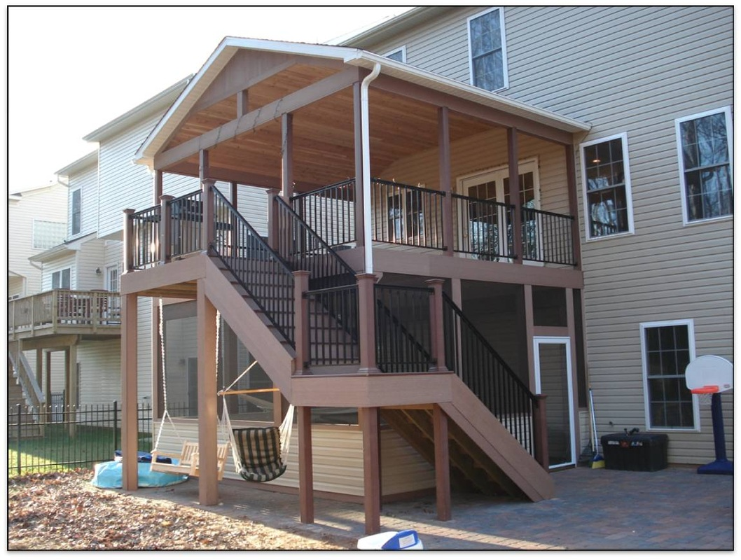 The Deck Amp Fence Company Maryland Deck Builders For
