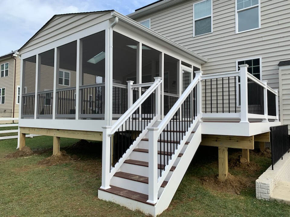 Maryland decks and porches