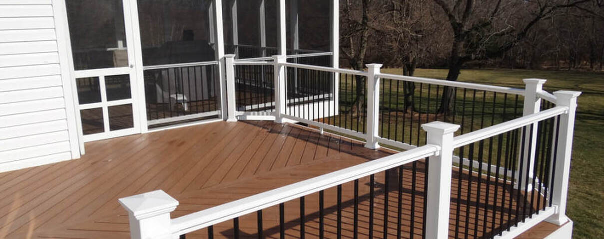 The Deck Amp Fence Company Maryland Deck Builders The